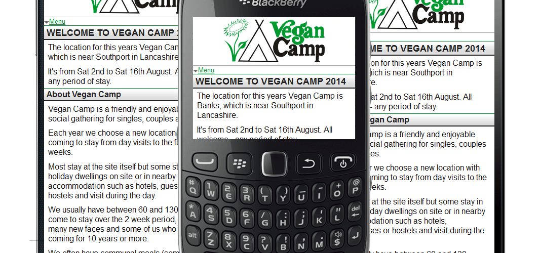 Vegan Camp