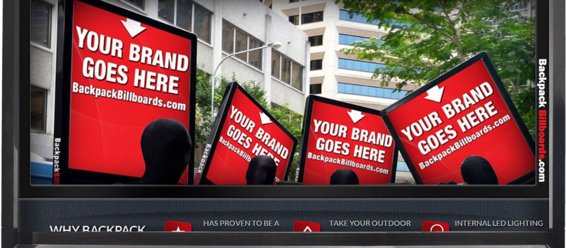 Backpack Billboards
