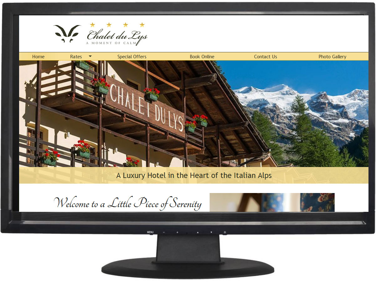 Hotel website design Huddersfield