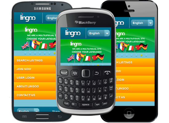 UK mobile app development for Lingoo Mobile