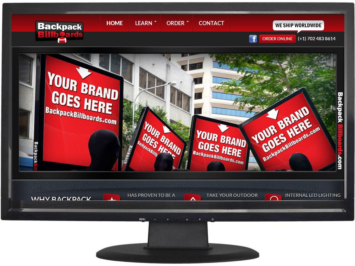 ethical website design Huddersfield - Backpack Billboards