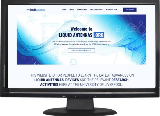 Liquid Antennas