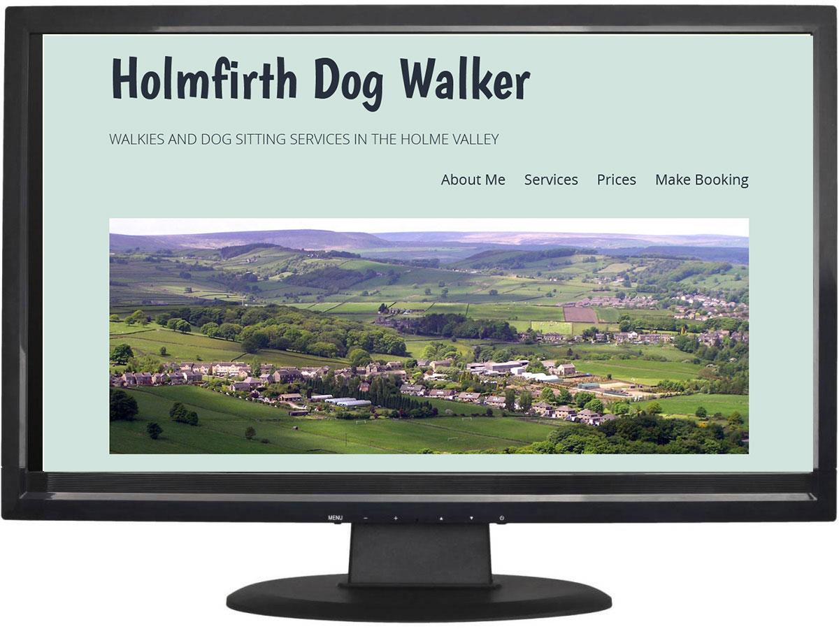 Holmfirth Dog Walker